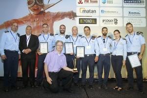 פרס פרויקט השנה 2017- הזוכים מחיל אוויר
